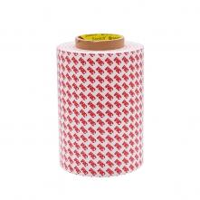 3M55235双面胶带手机模切胶半透明棉纸强粘胶 可分切模切 冲型