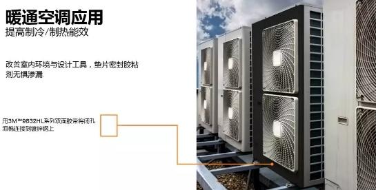 3M泡棉空调类行业应用