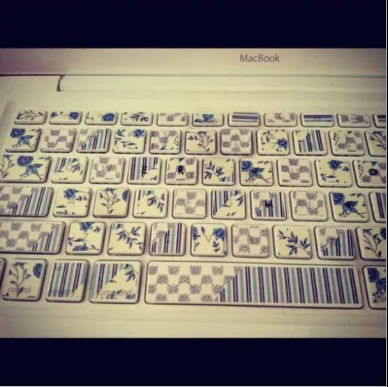 键盘胶带工艺