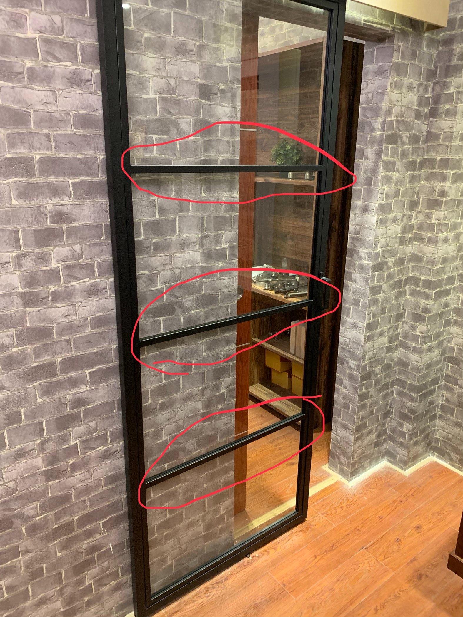 玻璃移门装饰粘接