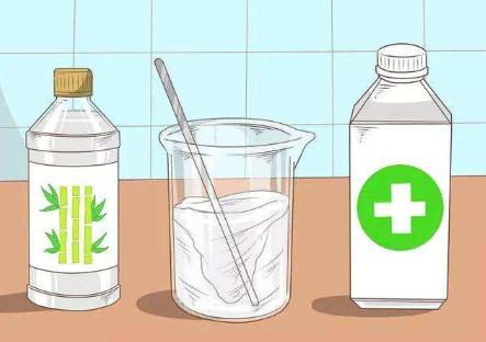 3M双面胶酒精+醋清理方法