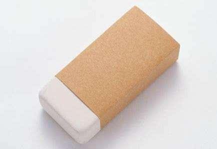 3M双面胶橡皮擦清理方法
