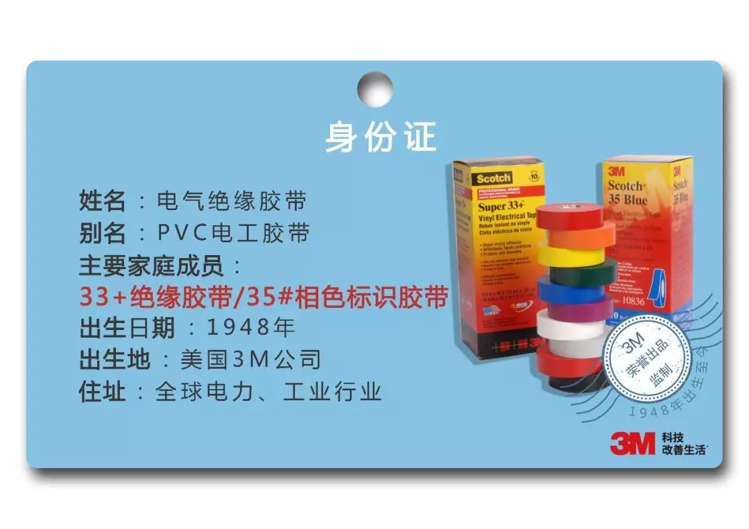 3M电工胶带背景介绍
