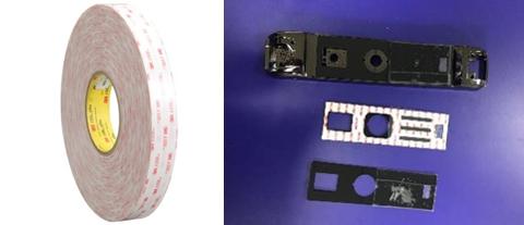 3M胶带智能门锁背贴2